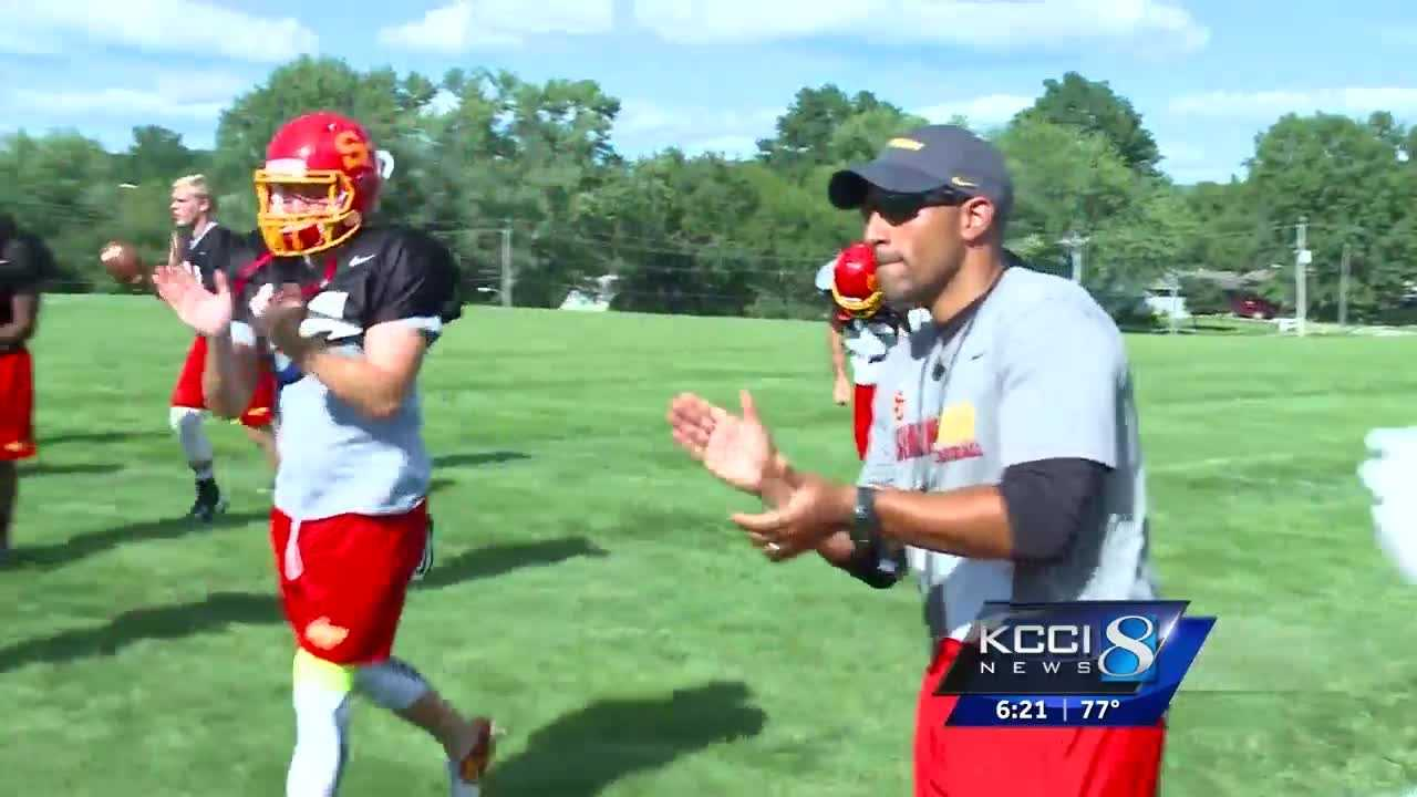 Matt Jeter is the new head man at Simpson College.  But he's not new to the program.