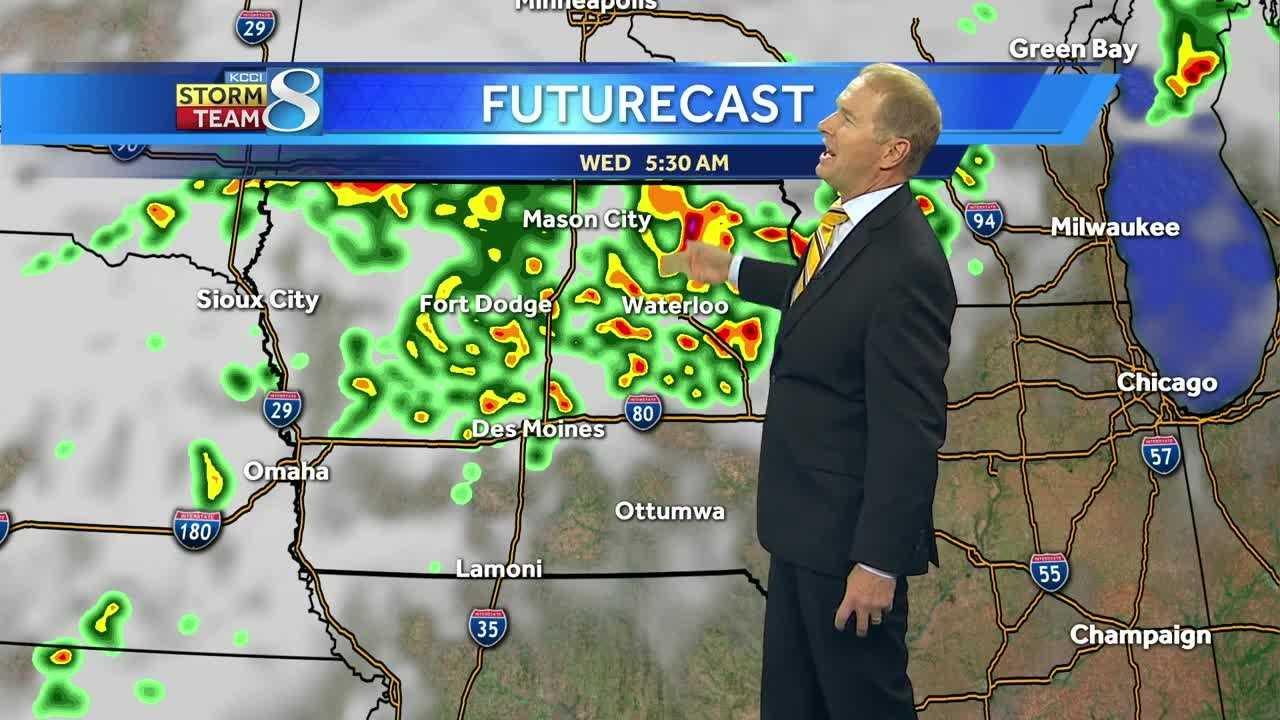 Weather forecast for Iowa