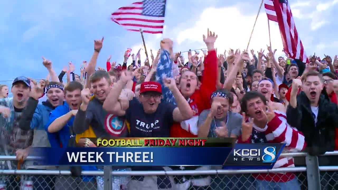 Football Friday Night: Week three highlights, scores.