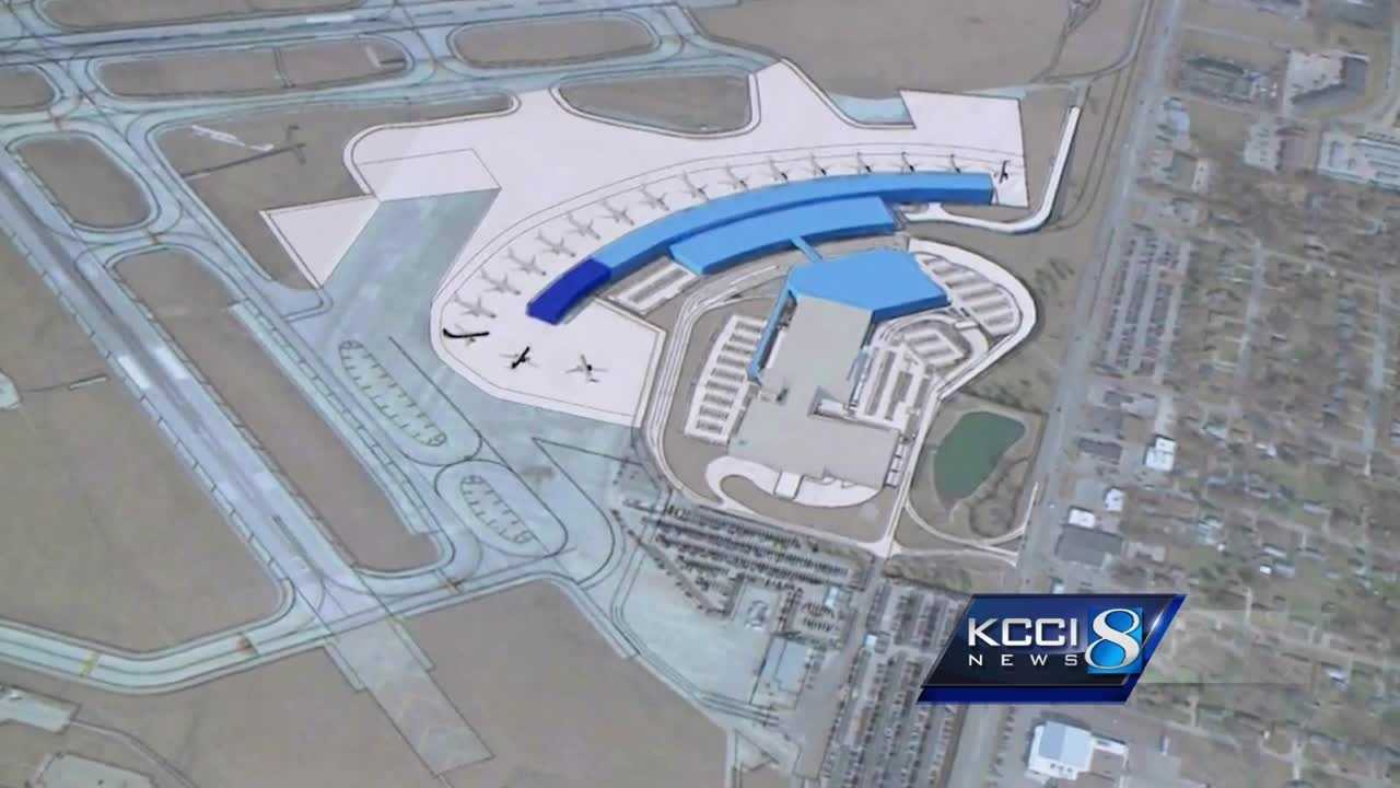 Construction of the new airport terminal will begin in 2022.