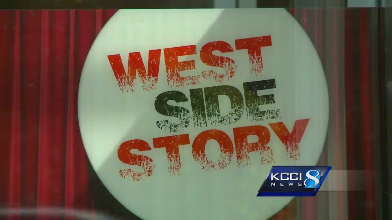 The Des Moines Playhouse will perform West Side Story next month, but the production is drawing some attention even before the curtain goes up.