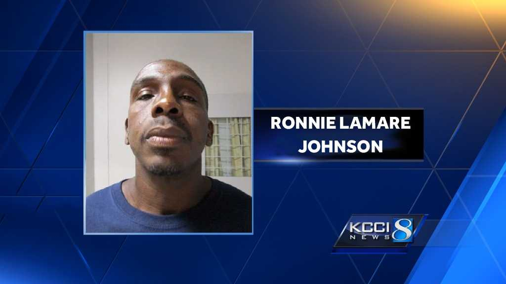 The Iowa Department of Corrections said Friday that Ronnie Lamare Johnson, 39, was placed on escape status after failing to return to Fort Des Moines Work Release Facility from a temporary furlough.