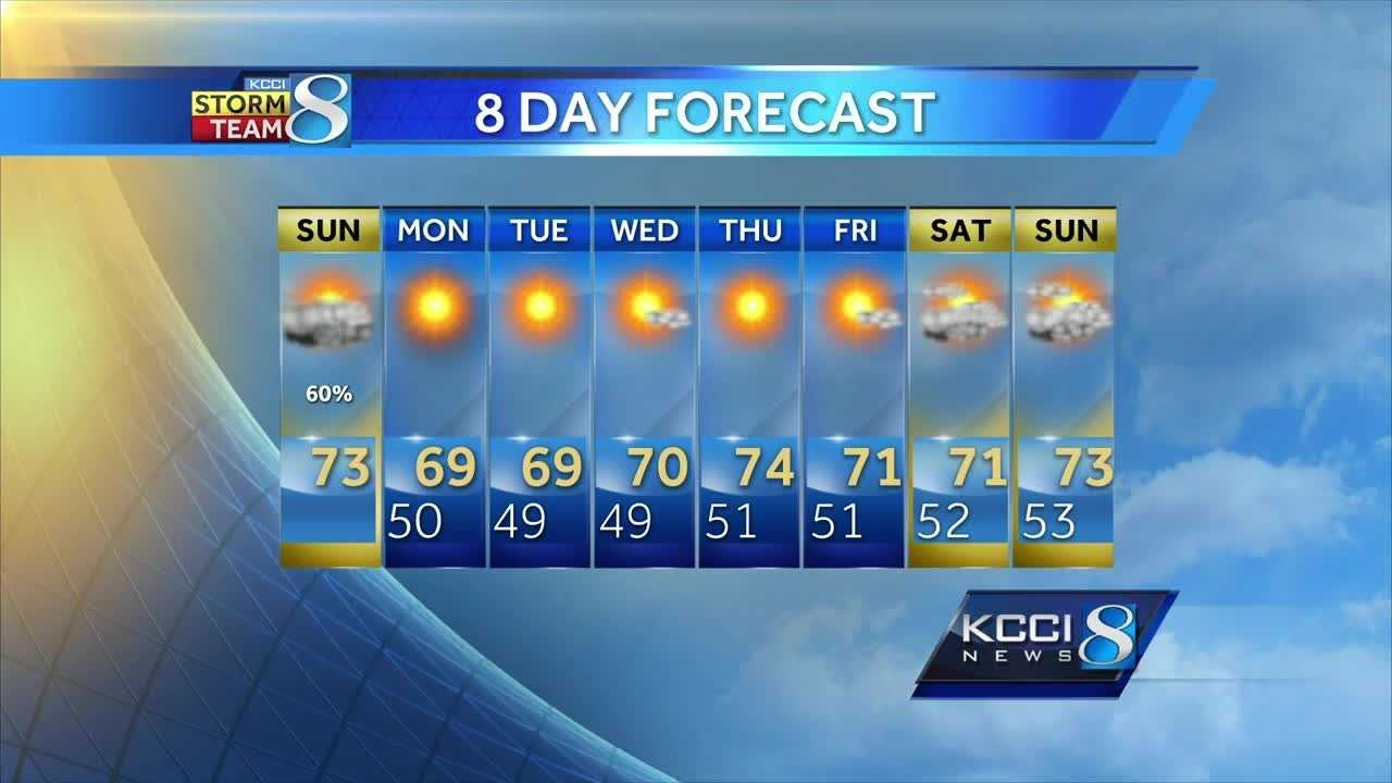 Videocast:  Showers Give Way to Perfect Fall Days