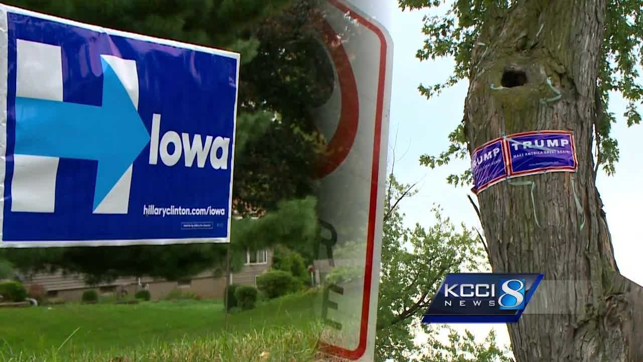 Residents fight back against stolen campaign signs