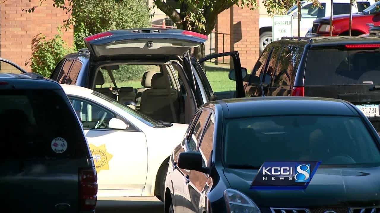 Des Moines police are investigating after the body of a woman was discovered inside a van parked at Broadlawns Medical Center.