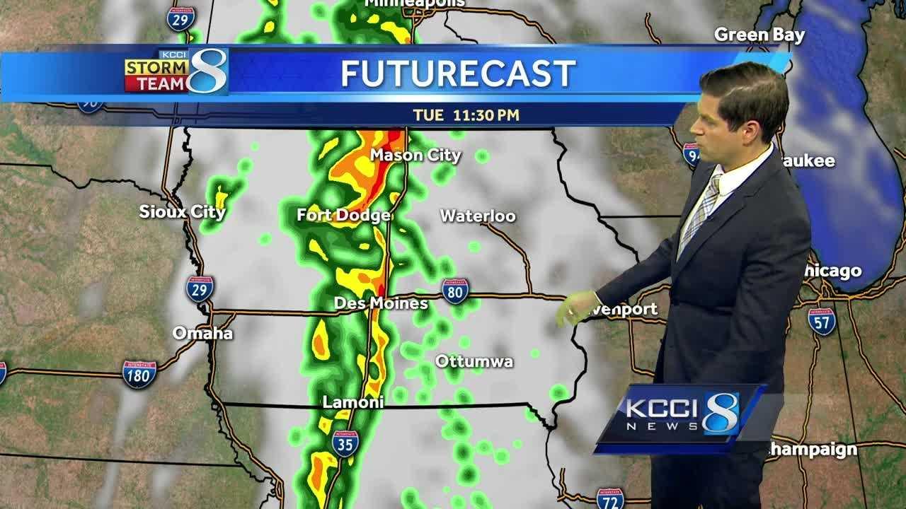 Iowa weather forecast.