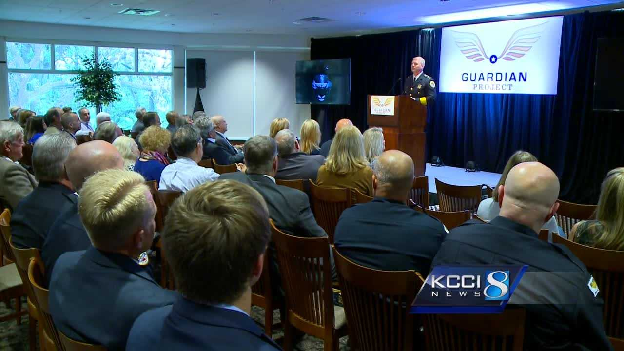 The Guardian Project is a program with the goal of raising money in the private sector to purchase body cameras for each Des Moines police officer.
