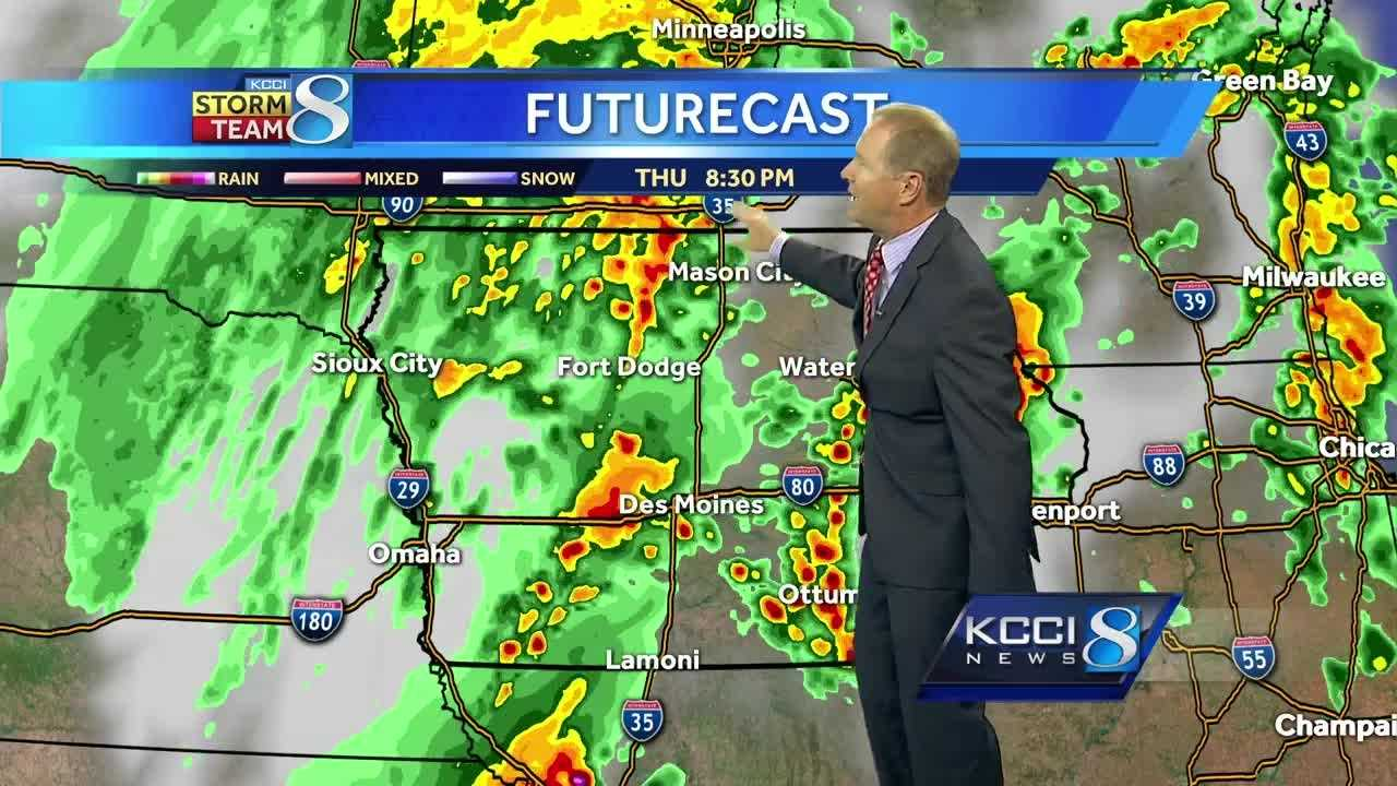 KCCI's Kurtis Gertz has the latest forecast.