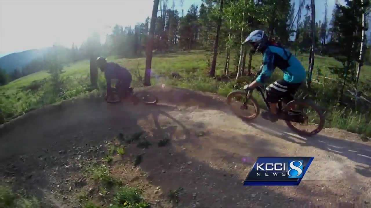 A new type of trail coming to Des Moines has mountain bikers excited.