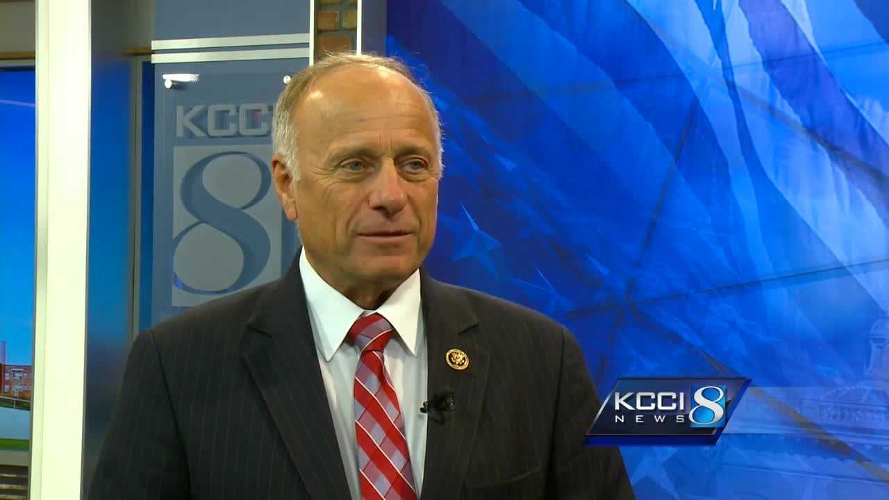 "Steve King: ""People know what my values are."""