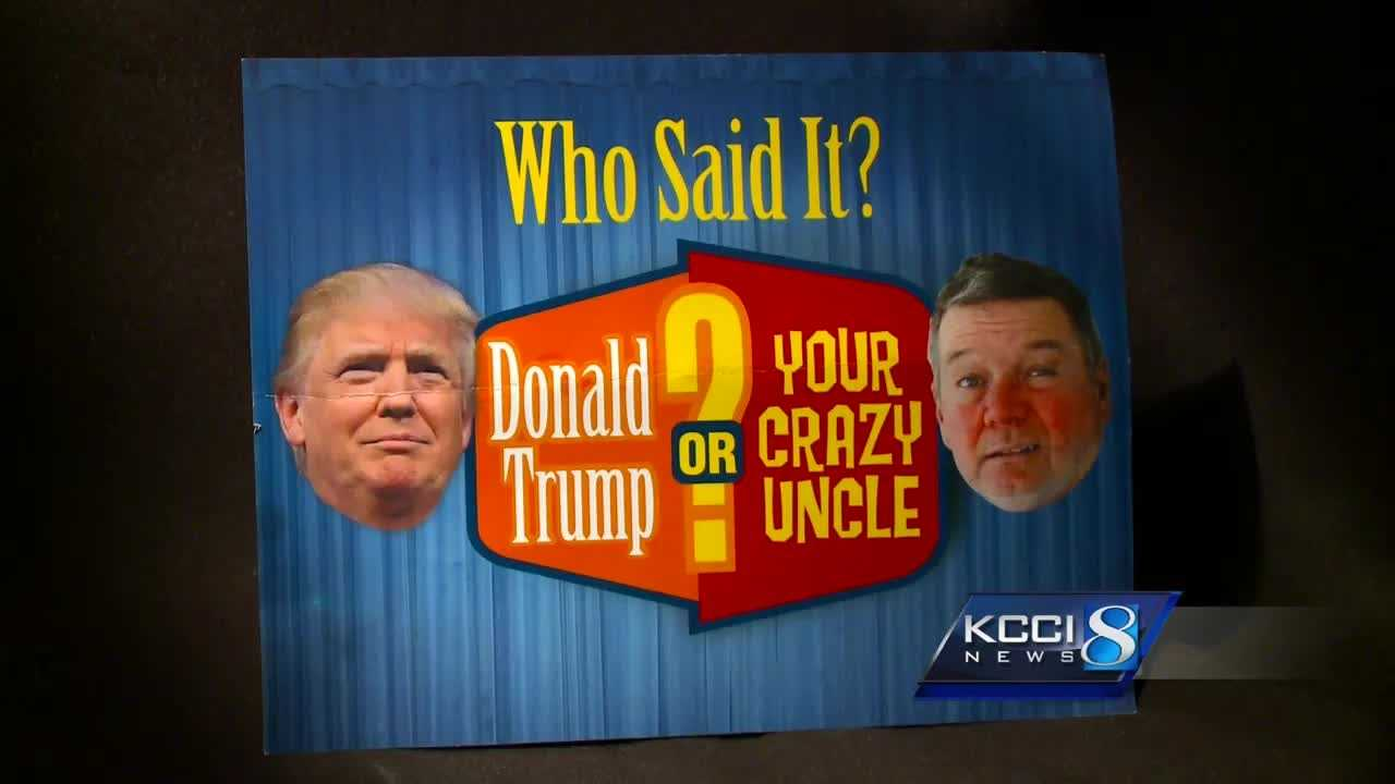 "The Iowa Democratic Party mailing compares Donald Trump to ""your crazy uncle."""
