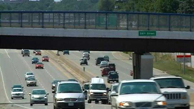 Interstate 235 at 56th Street