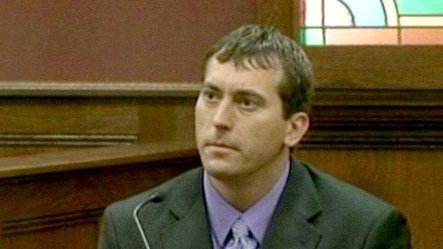 Jason Ebelsheiser on witness stand.