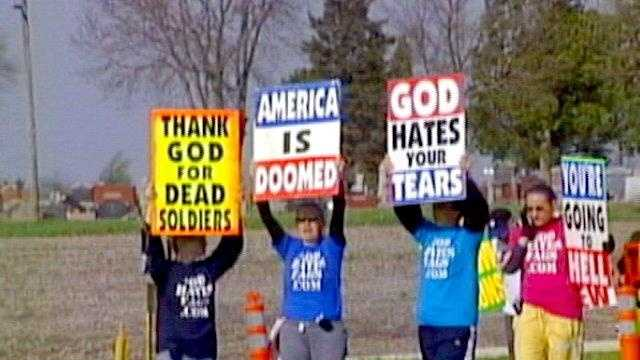 Westboro Church Protest - 25306650