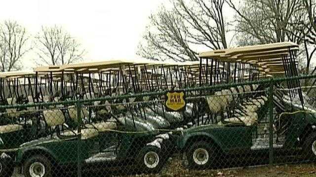 Golf Carts - 15869051