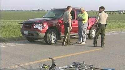 Grimes Bike Crash