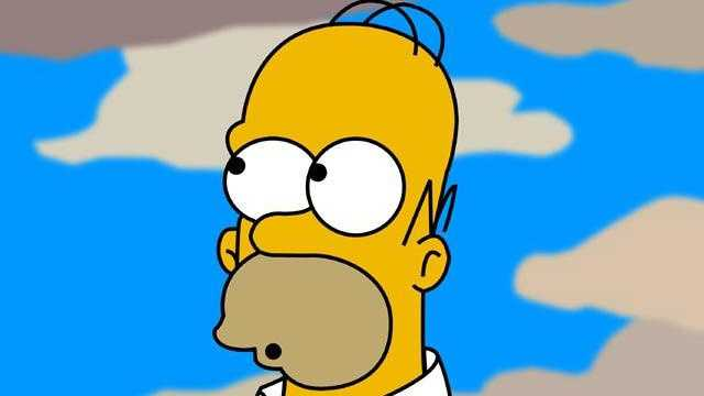 "Homer Simpson (voiced by Dan Castellaneta) from ""The Simpsons"""