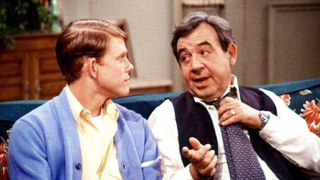 "Howard Cunningham (Tom Bosley) from ""Happy Days"""