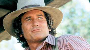 "Charles Ingalls (Michael Landon) from ""Little House on the Prairie"""