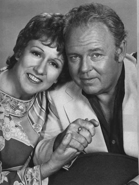 """Archie Bunker (Carroll O'Connor) from """"All in the Family"""""""