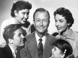 "Jim Anderson (Robert Young) from ""Father Knows Best"""