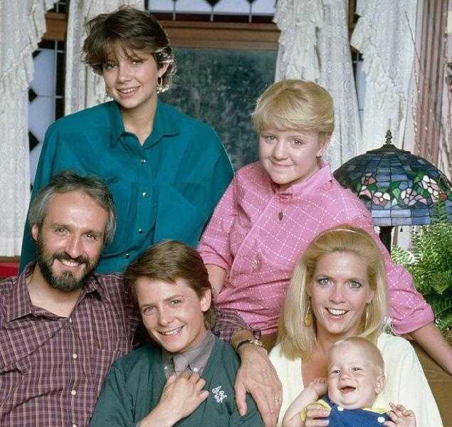 """Steven Keaton (Michael Gross) from """"Family Ties"""""""