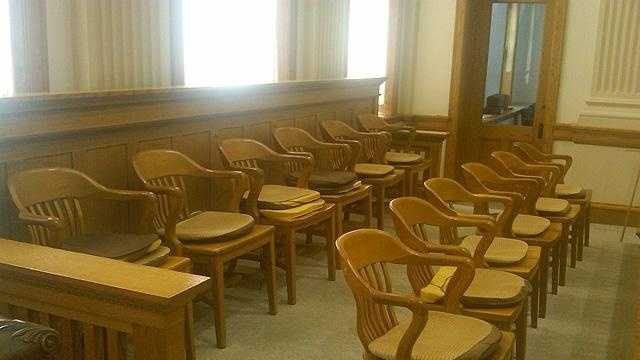 Crime - trial courtroom jury generic - 30361535