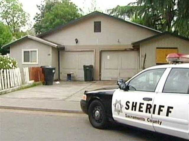 A woman in a wheelchair was shot in the leg when a hail of bullets were fired at a Sacramento home.