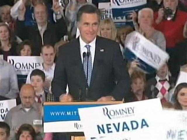 Mitt Romney did well in Nevada with his fellow Mormons and for the first time broke above 50% with Conservatives.