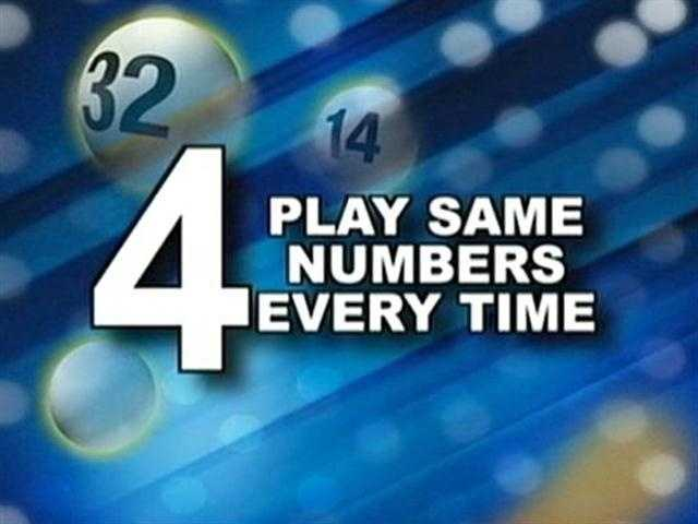 4. Play your same number each time.
