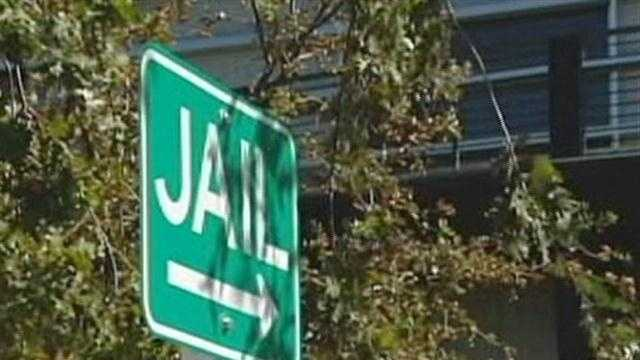 fri Placer County Jail sign - 29356233