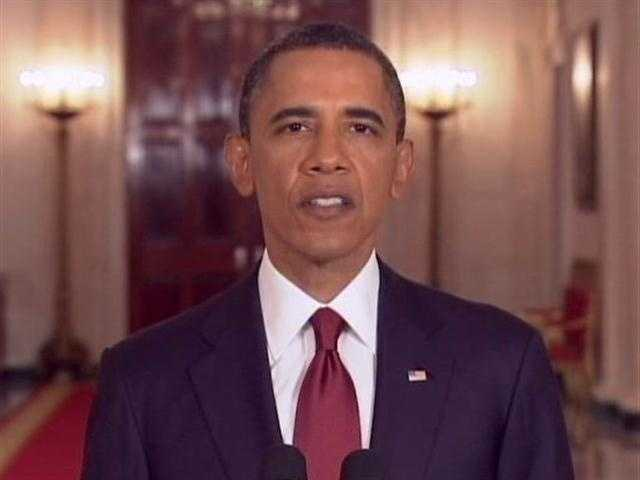 President Barack Obama said that after a firefight, US troops killed and secured Osama Bin Laden's body.
