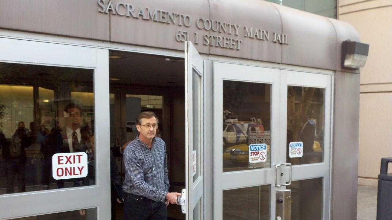 Michael Lyon Leaving Sacramento County Main Jail