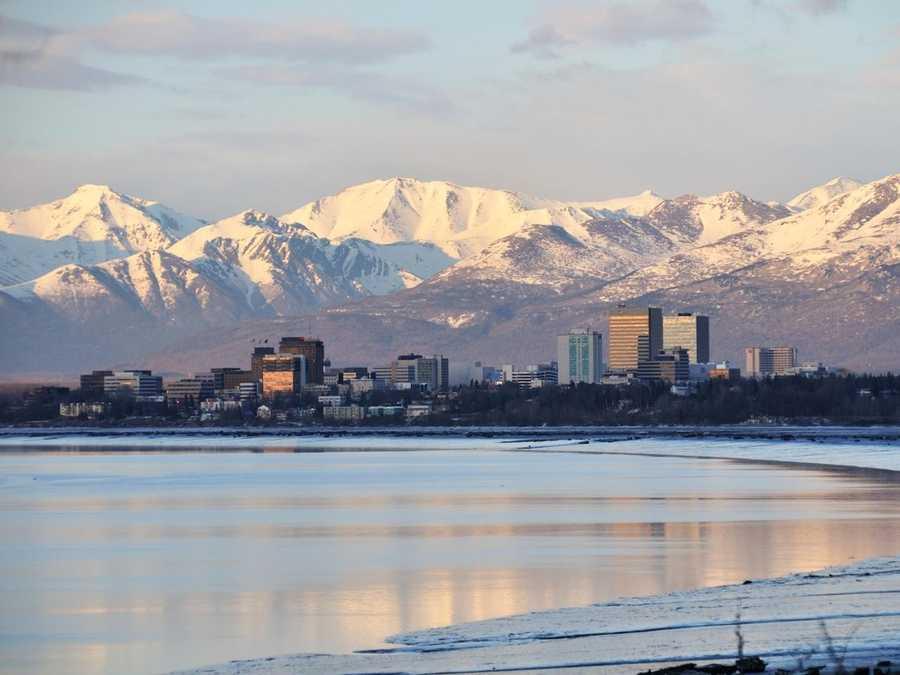 Alaska -- $50,400/year