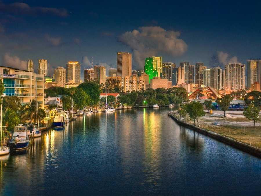 No. 1: Miami, Fla.