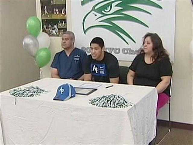 John Wiernicki of Liberty Ranch High School committed to the United States Air Force Academy.