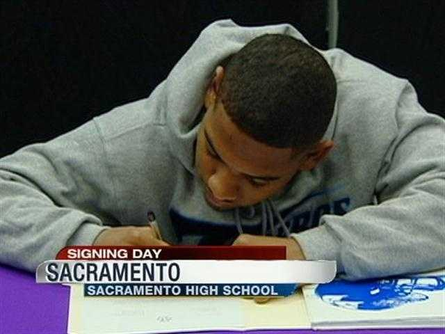 Jalen Angel will play football at the University of San Diego.