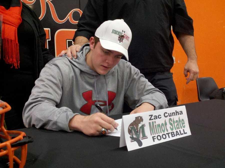 Zach Cunha of Roseville High School.