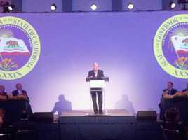 Governor Jerry Brown talks about the budget deficit and the need for courage.