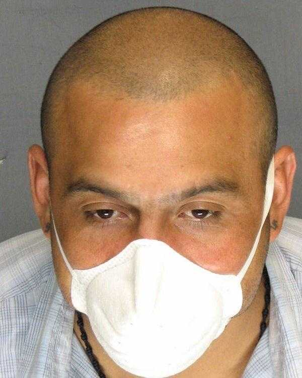 Armando Rodriguez, 34, was arrested in Stockton after authorities said he failed to medicate for a highly contagious disease.