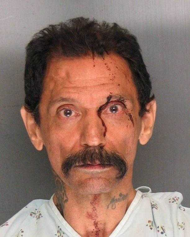 Adolf Gutierrez, 53, was arrested and suspected of fatally stabbing another man during a family disturbance.