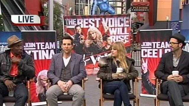 The final four contestants on NBC's The Voice, Tony Lucca, Chris Mann, Jermaine Paul, and Juliet Simms, talk about what's ahead for them.