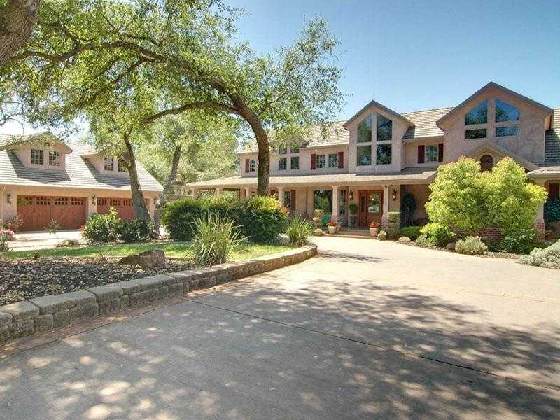Home No. 1: Home complete with gym, indoor basketball court. This home is located in Granite Bay.