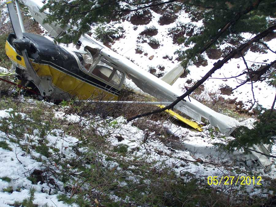 The Cessna 172 crashed just after midnight, Sunday.
