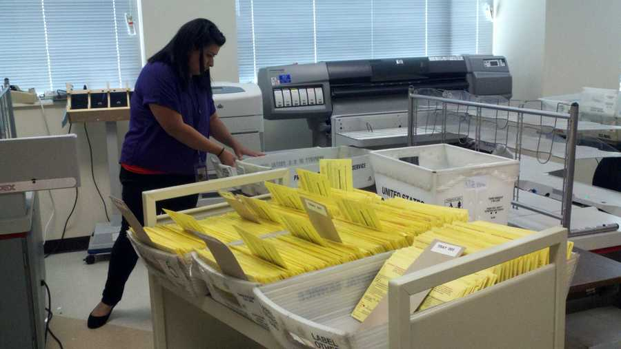 People in Stockton said they are more interested in voting this year than ever before because of the out-of-control crime and the city's bankruptcy issues. San Joaquin County elections officials said they are excited they're seeing more first-time voters.