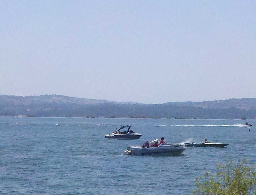 Many people flocked to Folsom Lake this Memorial Day weekend.