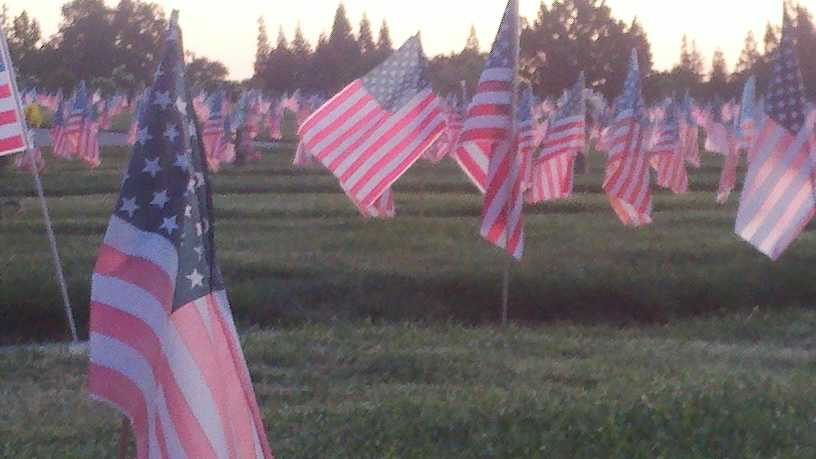A Mount Vernon Memorial Day event was held Monday.