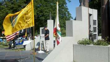 A Vietnam veterans tribute was held Sunday.
