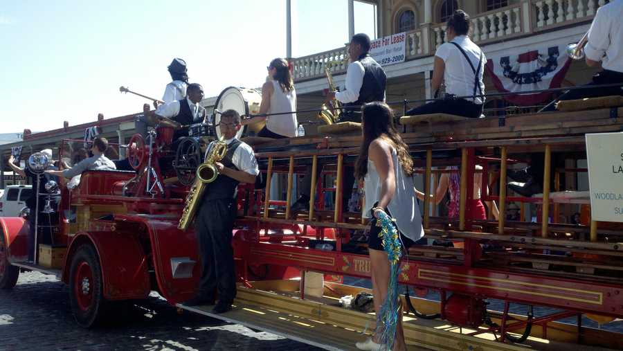 A music festival and parade were held in Sacramento this Memorial Day weekend.