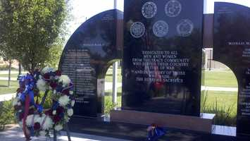 Observers mark Memorial Day holiday in Tracy.